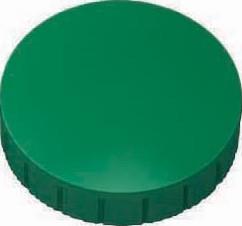 Maul magneet MAULsolid,  diameter 32 x 8,5 mm, groen, doos met 10 stuks