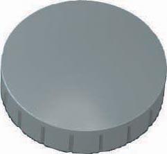 Maul magneet MAULsolid, diameter 32 x 8,5 mm, grijs, doos met 10 stuks