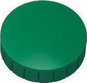 Maul magneet MAULsolid, diameter 38 x 15,5 mm, groen, doos met 10 stuks