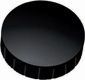 Maul magneet MAULsolid, diameter 38 x 15,5 mm, zwart, doos met 10 stuks