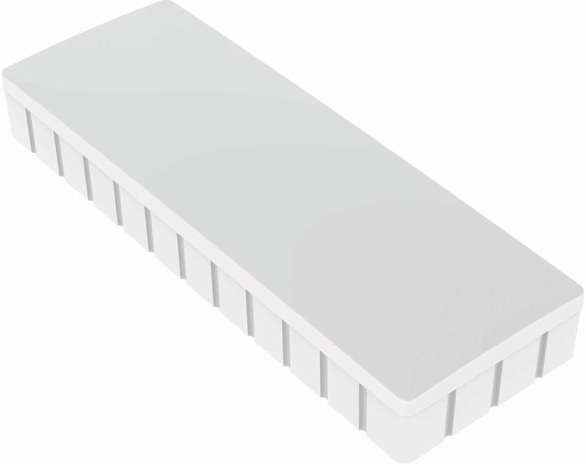 Maul magneet MAULsolid, ft 54 x 19 mm, wit, doos van 10 stuks