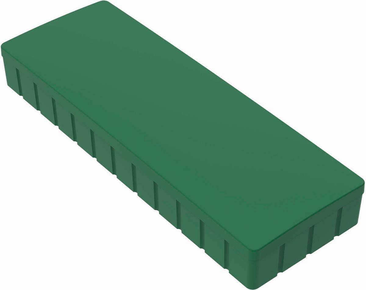 Maul magneet MAULsolid, ft 54 x 19 mm, groen, doos van 10 stuks
