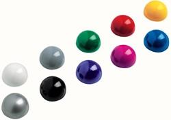 Maul Kogelmagneet, diameter 30 mm, set van 10 stuks, geassorteerde kleuren