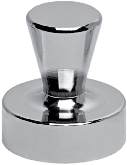 Maul neodymium kegelmagneet, diameter 20 mm, pak van 4