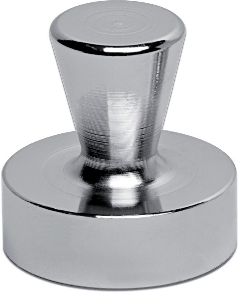 Maul neodymium kegelmagneet, diameter 32 mm, pak van 2