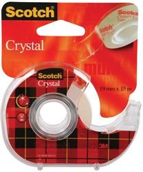 Scotch Plakband Crystal ft 19 mm x 15 m