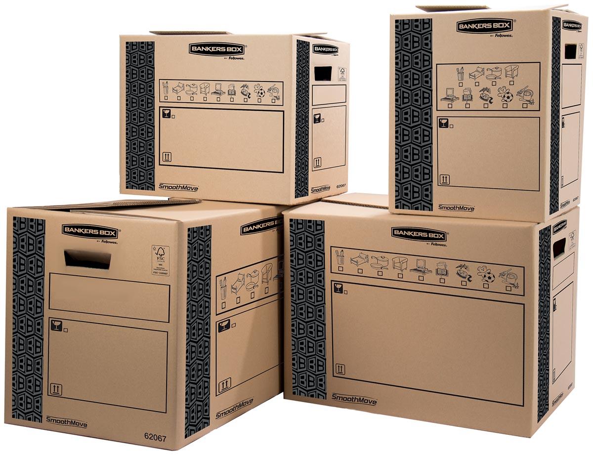 Fellowes verhuisdoos Bankers Box Heavy Duty, ft 30 x 30 x 37 cm, pak van 10 stuks