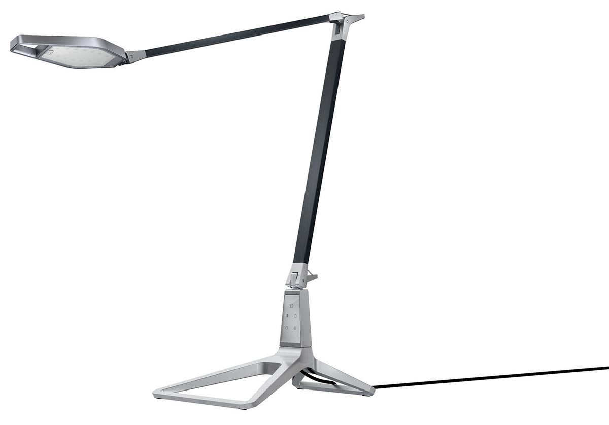 Leitz Style LED bureaulamp zwart