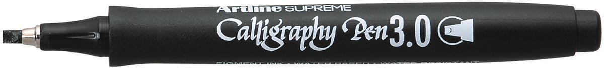 Artline marker Supreme Calligraphy Pen, 3,0 mm, zwart