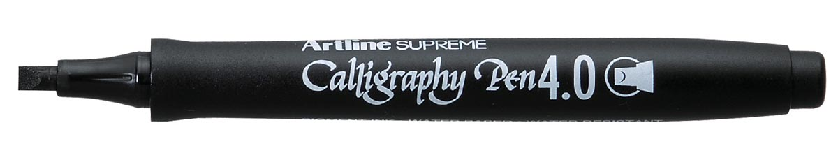 Artline marker Supreme Calligraphy Pen, 4,0 mm, zwart