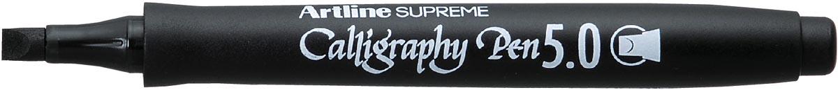 Artline marker Supreme Calligraphy Pen, 5,0 mm, zwart