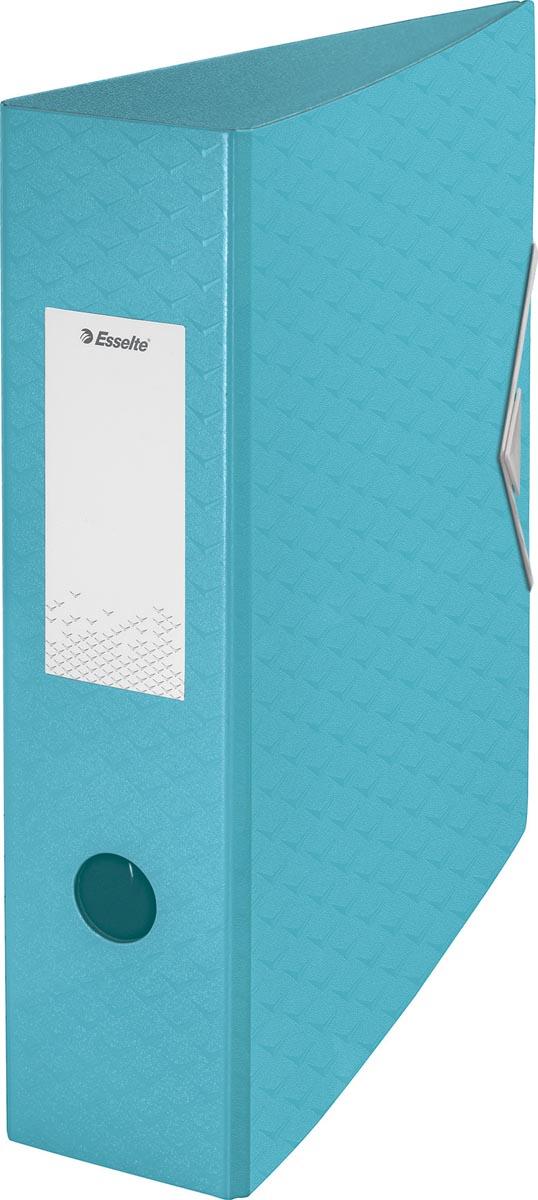 Esselte ordner Colour'Ice A4, uit polyfoam, rug van 7,5 cm, blauw