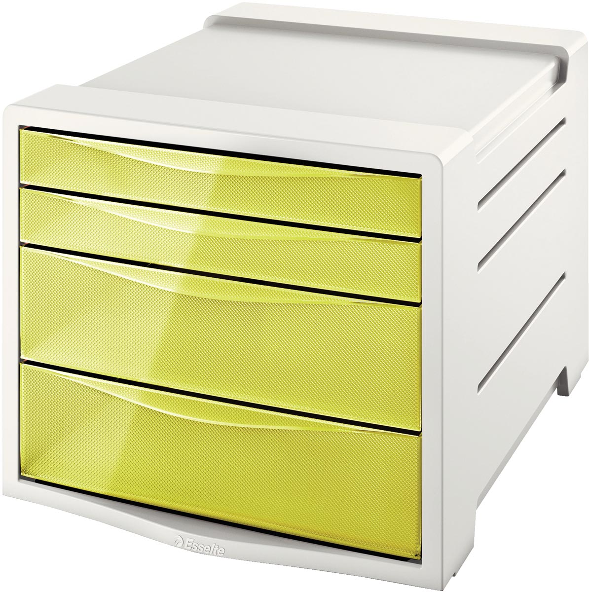 Esselte ladenblok Colour'Ice 4 laden, geel