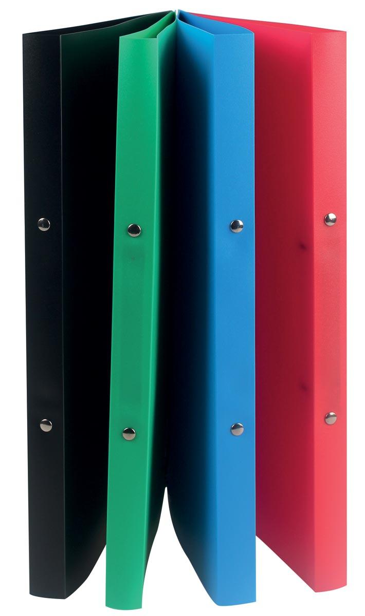 Class'ex ringmap, 2 ringen van 16 mm, geassorteerde kleuren