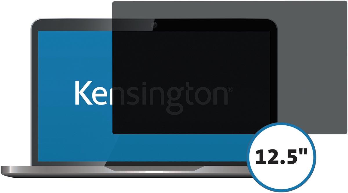 Kensington privacy schermfilter voor laptop 12.5 inch 16:9, 2 weg, zelfklevend