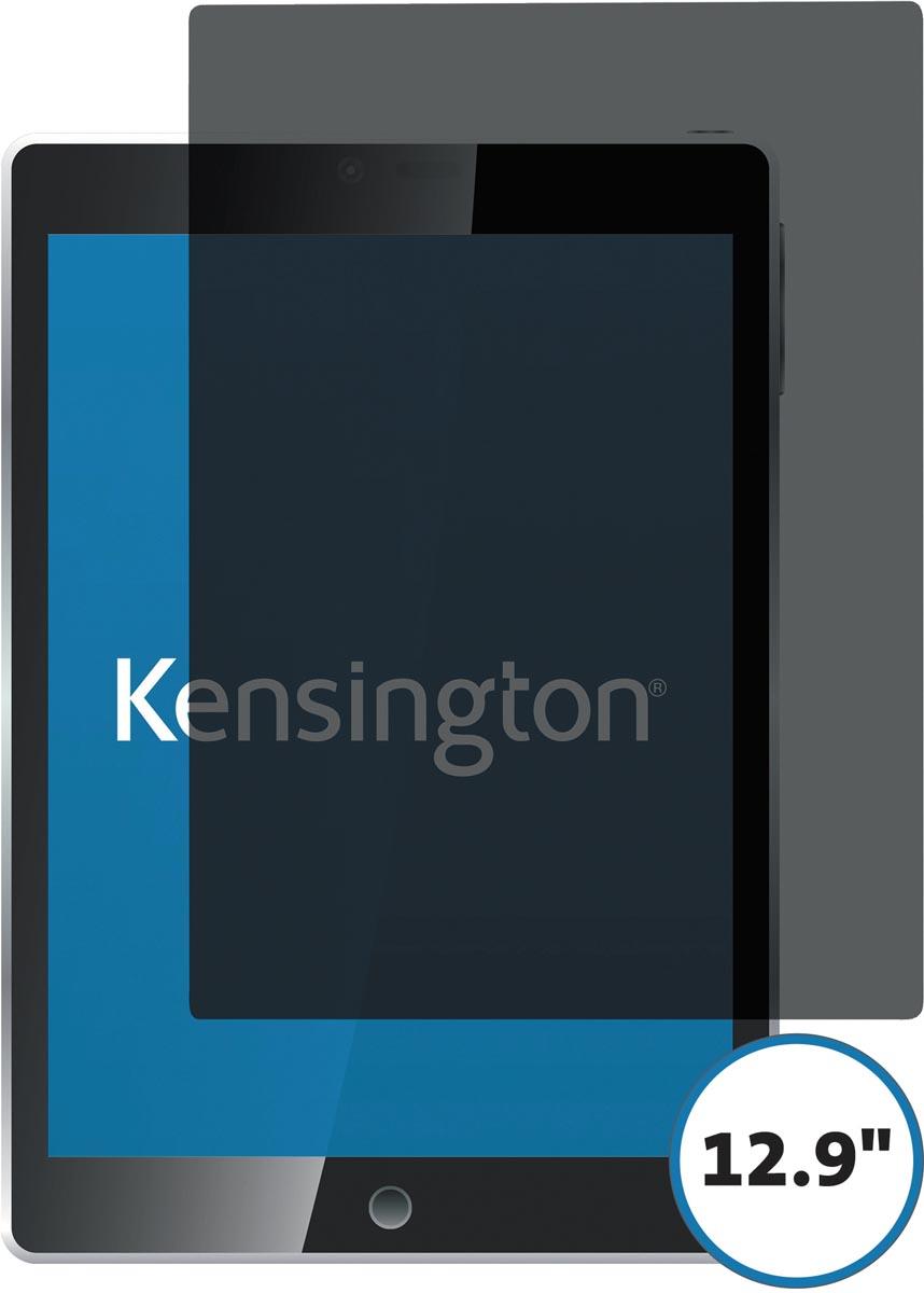 Kensington privacy landschap schermfilter voor iPad Pro 12.9 inch 2018, 2 weg, zelfklevend
