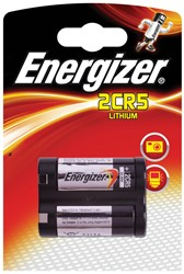 Energizer batterij Photo Lithium 2CR5, op blister