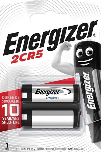 Energizer batterij Photo Lithium 2CR5, op blister