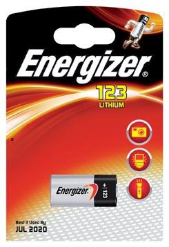 Energizer En123p1 El123 Lithium Foto Batterij 1-blister