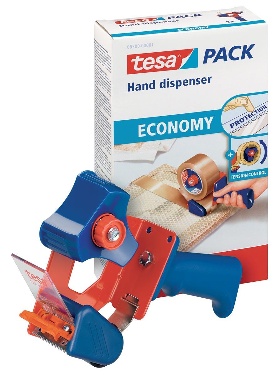 Tesa afroller Economy, voor verpakkingsplakband van maximum 50 mm