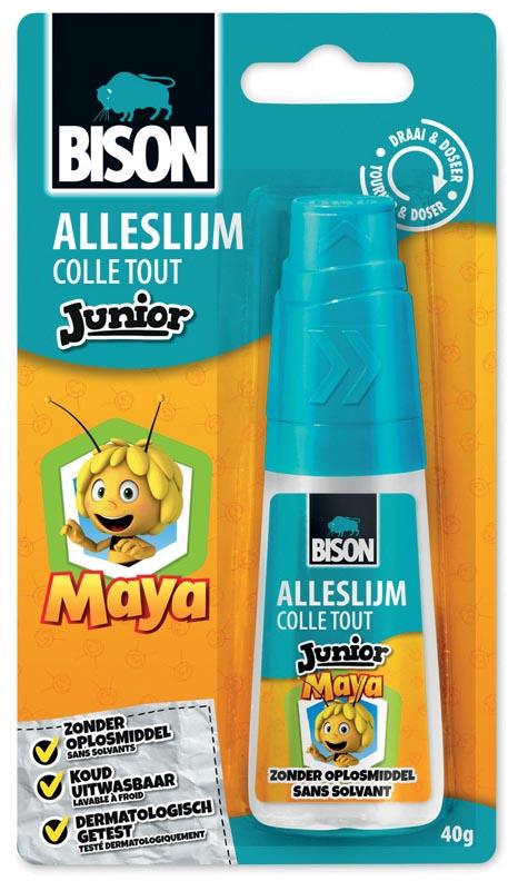 Bison Junior Maya alleslijm 40 g, op blister