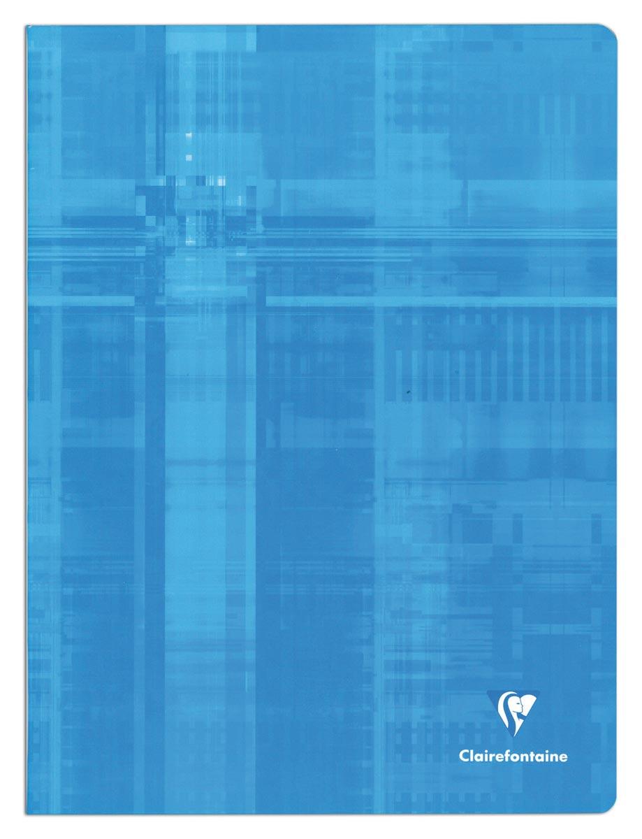 Clairefontaine schrift ft 24 x 32 cm, 96 bladzijden, geruit 5 mm, met kantlijn