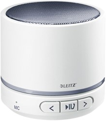Leitz WOW mini bluetooth luidspreker, wit / grijs