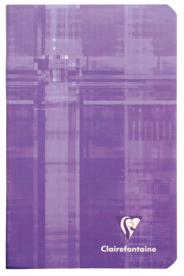 Clairefontaine notitieboekje Metric ft 11 x 17 cm, geruit 5/5 mm, 96 bladzijden