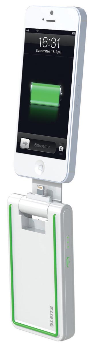Oplader Leitz Complete iPhone5 3-in-1 wit