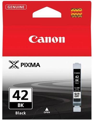 Canon inktcartridge CLI-42BK, 900 foto's, 13 ml, OEM 6384B001, zwart