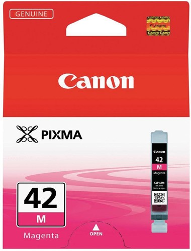 Canon inktcartridge CLI-42M, 416 foto's, 13 ml, OEM 6386B001, magenta
