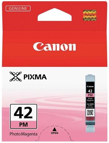 Canon inktcartridge CLI-42PM, 37 foto's, 13 ml, OEM 6389B001, foto magenta