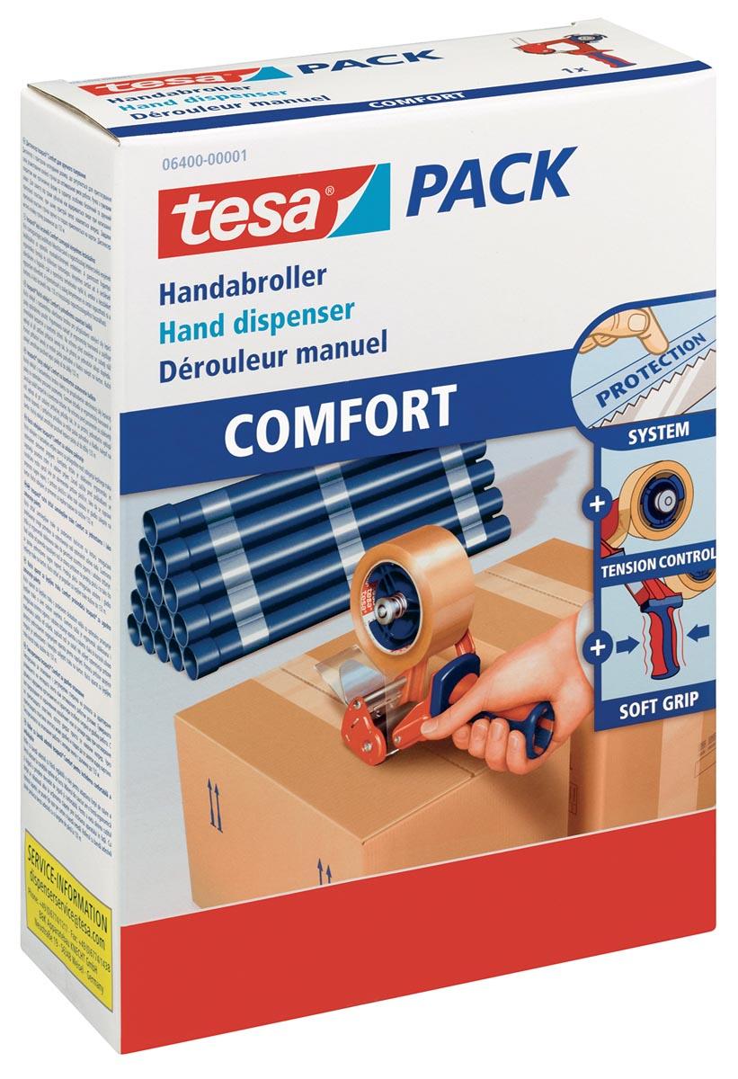 Tesa Pack 6400 verpakkingshanddispenser 'Comfort'