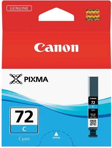 Canon inktcartridge PGI-72C, 525 foto's, 14 ml, OEM 6404B001, cyaan