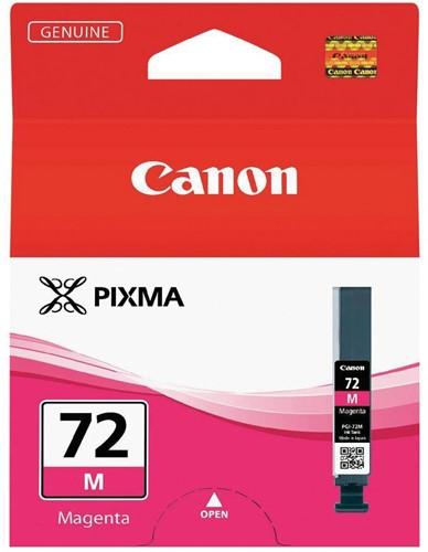Canon inktcartridge PGI-72M, 710 fot's, 14 ml, OEM 6405B001, magenta