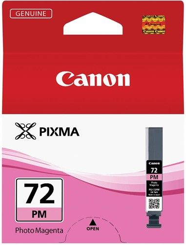 Canon inktcartridge PGI-72PM, 303 foto's, 14 ml, OEM 6408B001, foto magenta