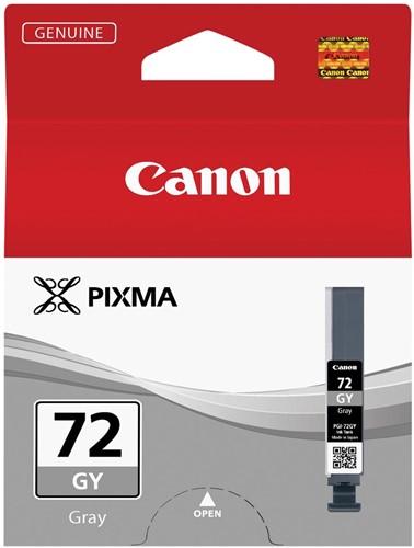 Canon inktcartridge PGI-72GY, 165 foto's, 14 ml, OEM 6409B001, grijs