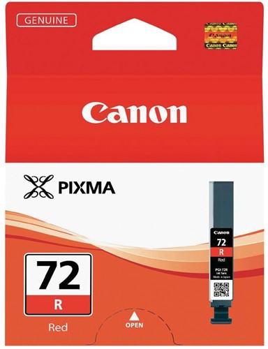 Canon inktcartridge PGI-72R, 144 foto's, 14 ml, OEM 6410B001, rood