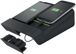 Complete charger 2 in 1 zwart