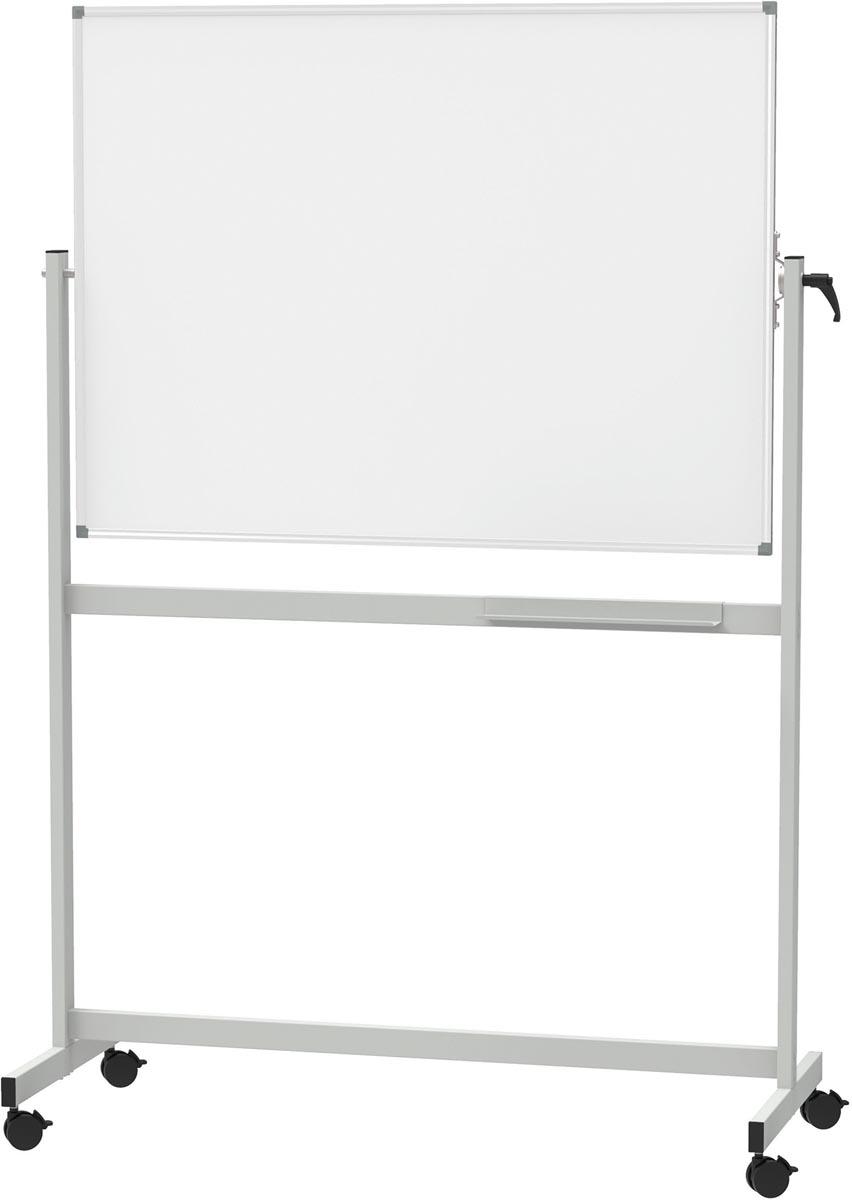 MAULstandaard magnetisch kantelbord, ft 90 x 120 cm, geëmailleerd oppervlak