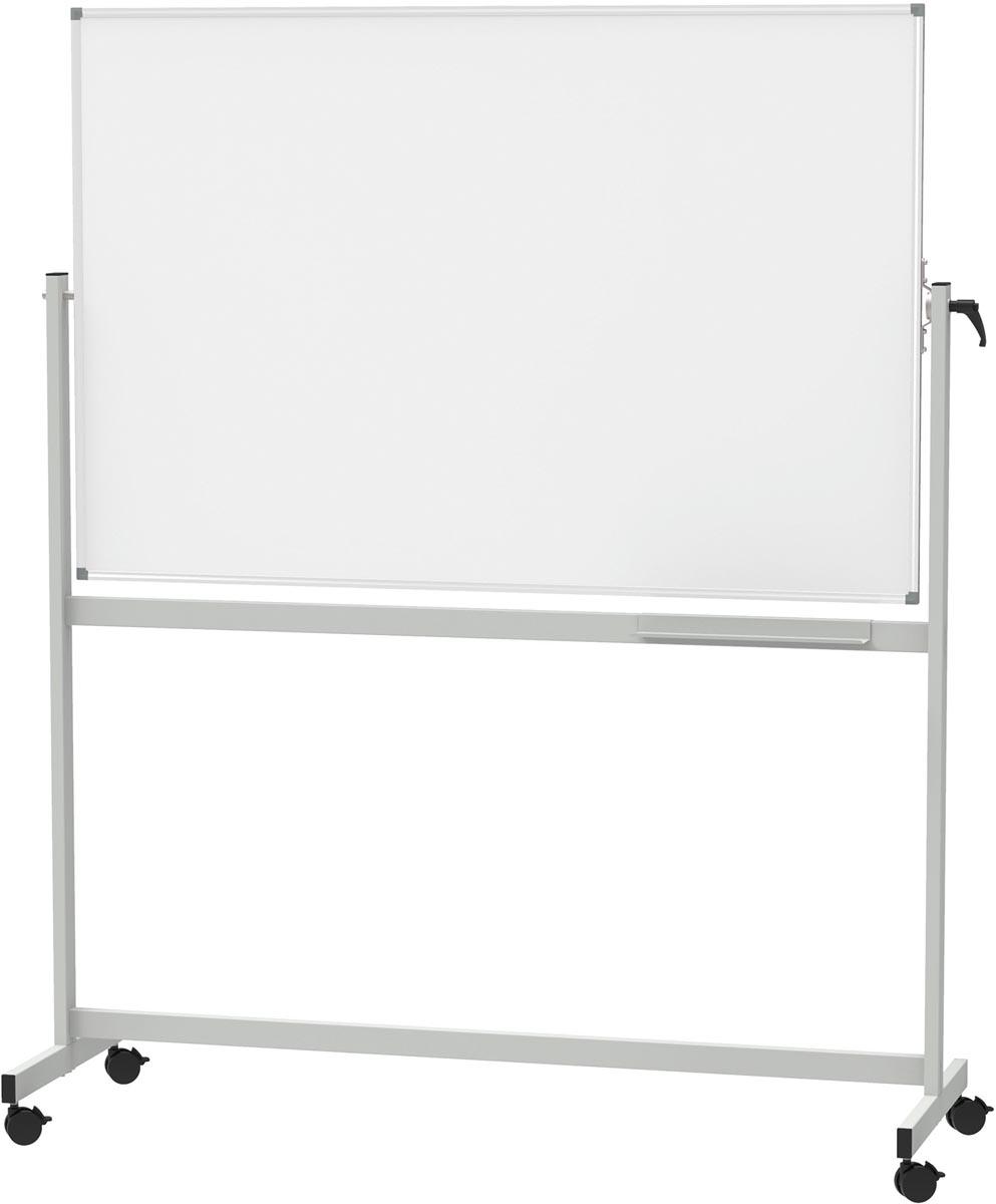 MAULstandaard magnetisch kantelbord, ft 100 x 150 cm, geëmailleerd oppvervlak
