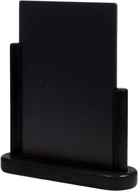 Securit tafelkrijtbord Elegant ft A5, zwart