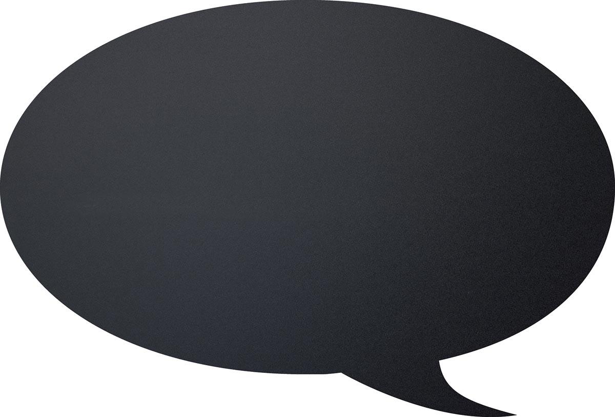 Securit krijtbord tekstballon ft 30 x 50 cm