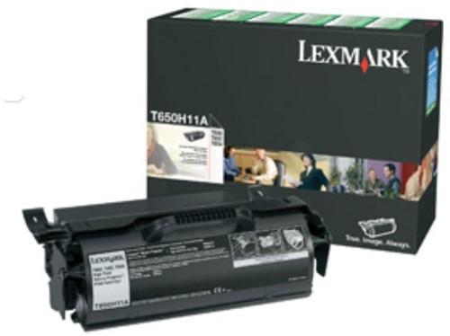 Lexmark Tonercartridge zwart return program - 25000 pagina's - T650H11E