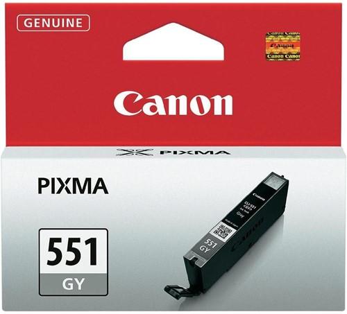 Canon inktcartridge CLI-551GY, 780 pagina's, OEM 6512B001, grijs