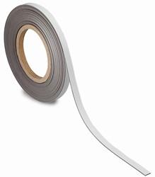 Maul magnetische etiketband, wisbaar, ft 10 m x 10 mm x 1 mm