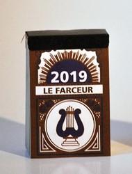 "Dagblokkalender ""Le Farceur"", 2019"