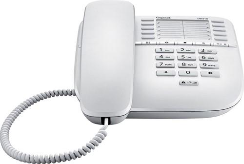 Gigaset DA510 vaste telefoon, wit