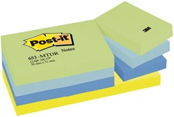 Post-it Notes Droom, ft 38 x 51 mm, pak van 12 blokken
