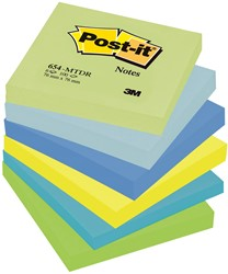 Post-it Notes Droom, ft 76 x 76 mm, pak van 6 blokken